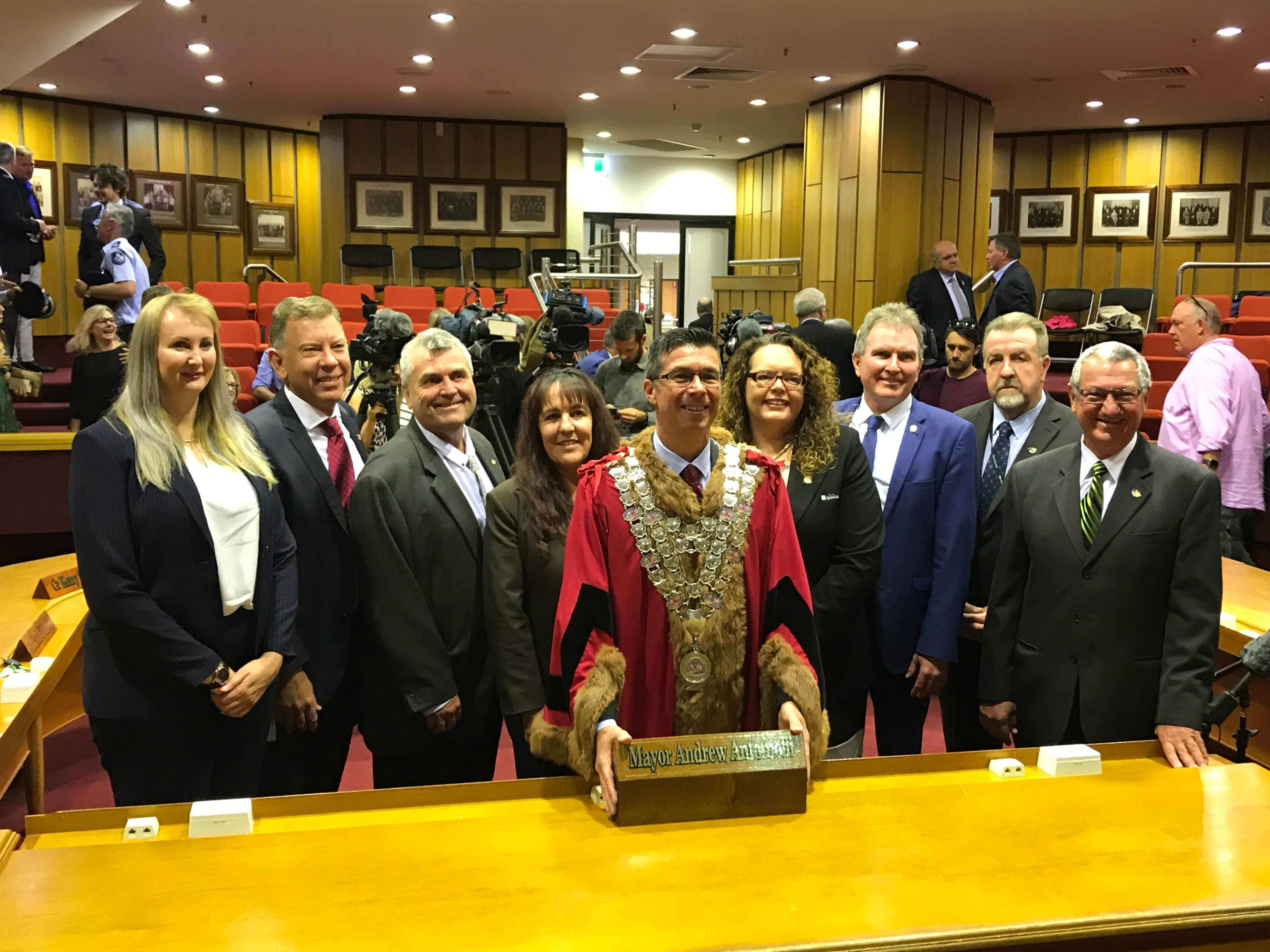 Ipswich's 50th Mayor sworn in